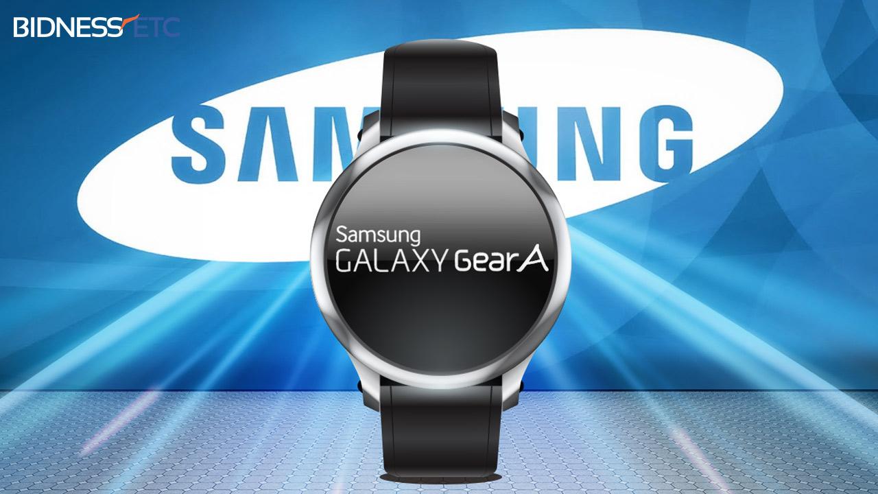 Samsung Gear A- smartwach w trzech wariantach