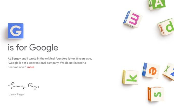 Google- podział i nowa firma