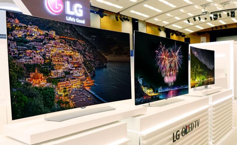 Lg zaprezentuje telewizory  OLED 4K z funkcją HDR