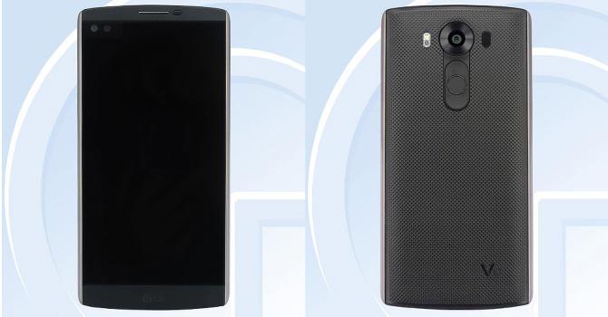 LG V10 z dwoma ekranami