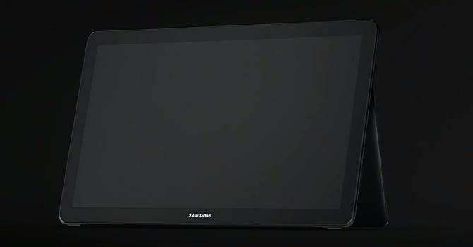 Samsung Galaxy View. 18,4-calowy tablet.