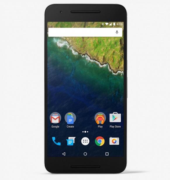 Huawei Nexus 6P front