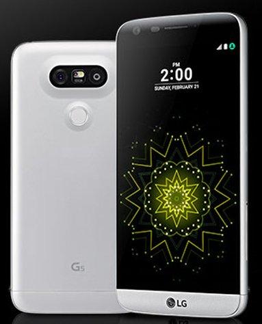 LG G5 pokazane na zdjęciach