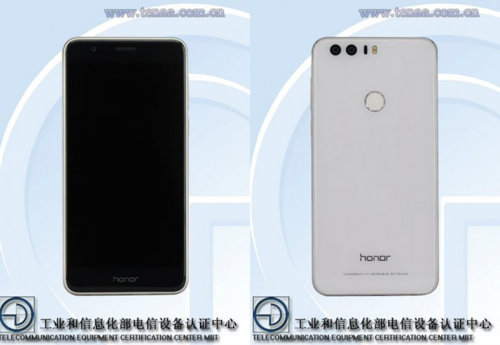 Honor 8 pokazany w TENAA
