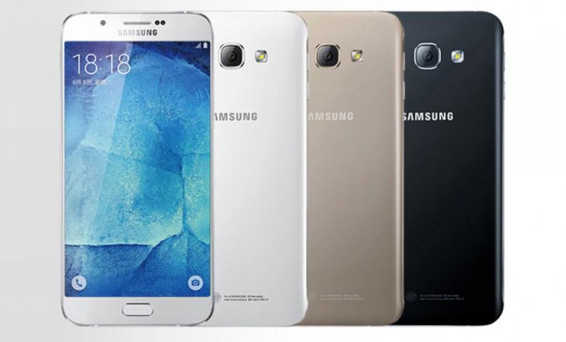 Samsung Galaxy A8 (2016) - średniak o parametrach flagowca