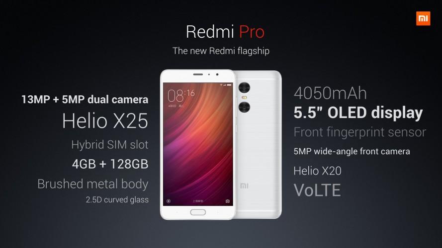 Xiaomi Redmi Pro zaprezentowany