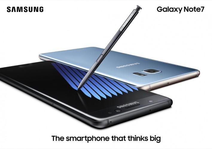 Samsung Galaxy Note 7 oficjalnie zaprezentowany