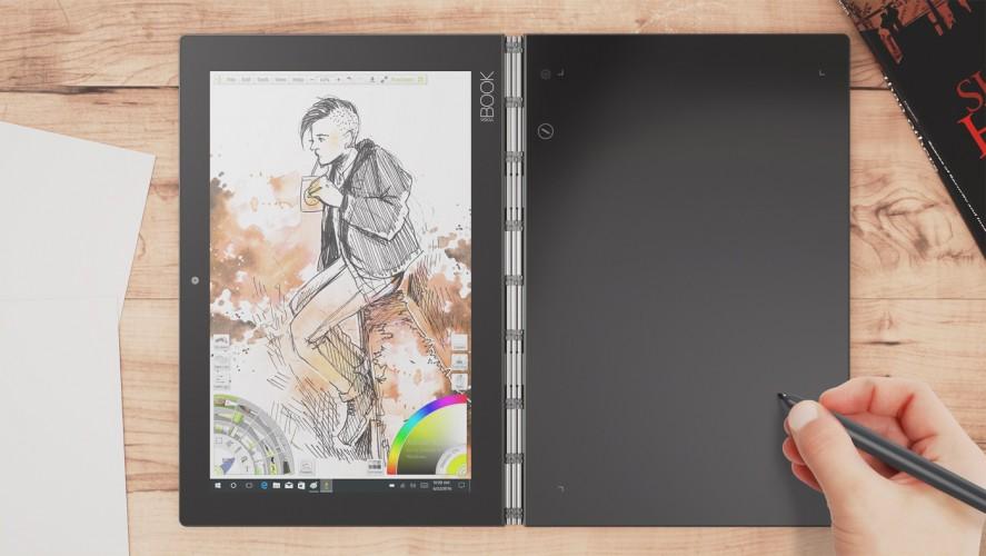 Lenovo YOGA BOOK - innowacyjne urządzenie 2w1