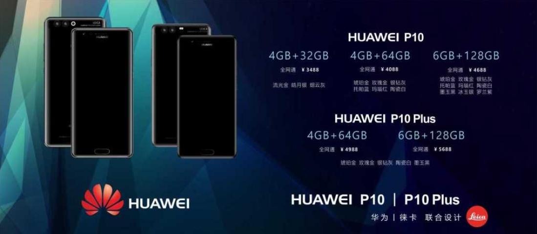 Huawei P10 ceny