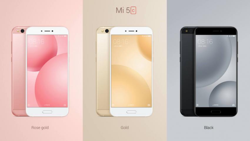 Xiaomi Mi 5c zaprezentowane