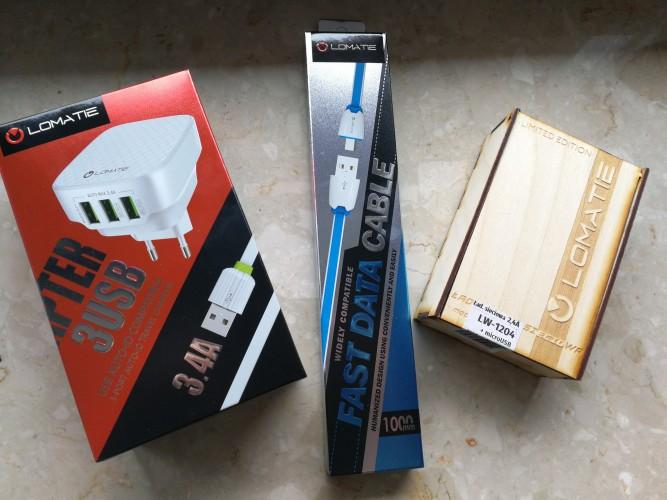 Recenzja produktów Lomatie - szybkich ładowarek oraz wytrzymałego kabla