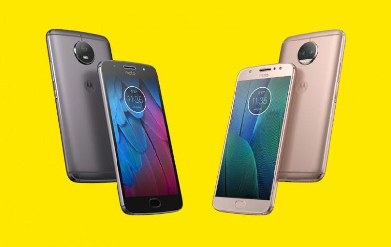 Motorola Moto G5S Plus oraz G5S oficjalnie zaprezentowane