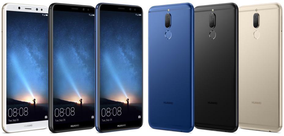 Huawei Mate 10 Lite otrzyma cztery obiektywy