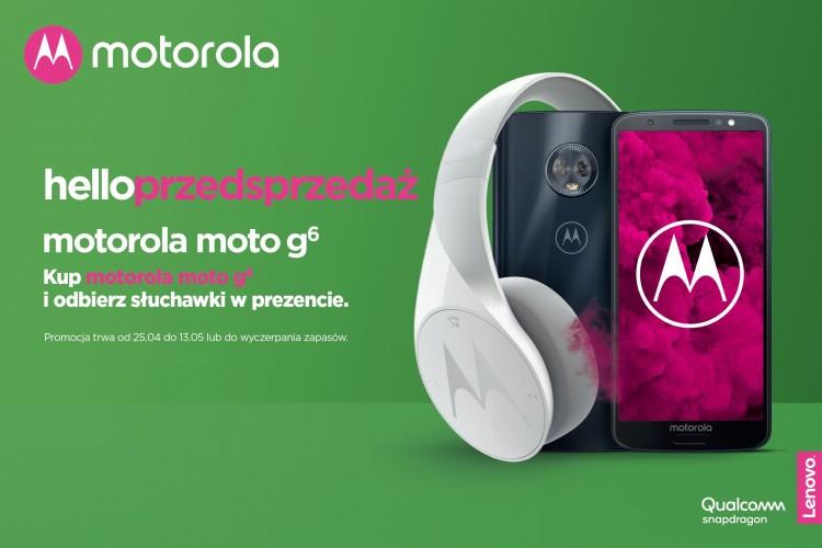 Rusza przedsprzedaż Motoroli Moto G6 w Polsce