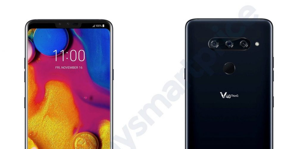 LG V40 ThinQ ujawnia specyfikację