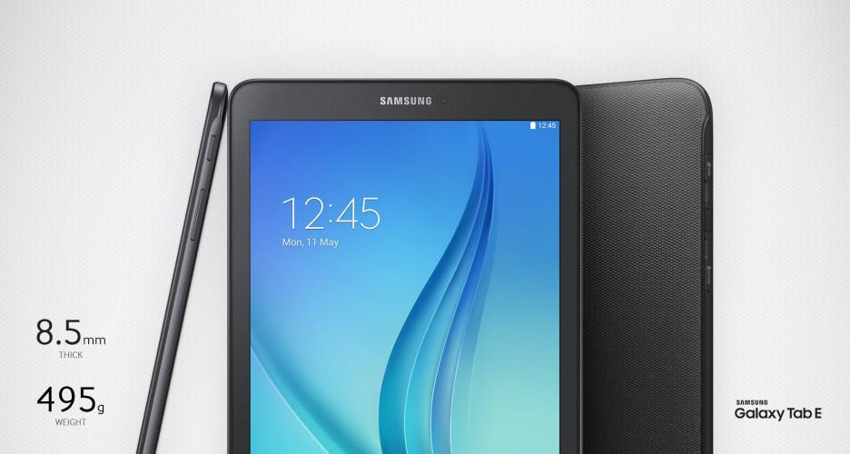 Samsung Galaxy Tab E- tablet ze średniej półki