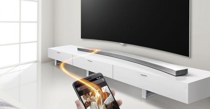 LG Music Flow HS8- nowy zakrzywony soundbar
