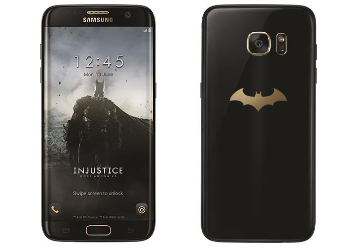 Samsung Galaxy S7 smartfonem Batmana