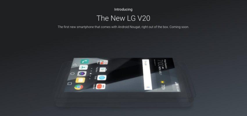 LG V20 - wygląd nowego flagowca LG