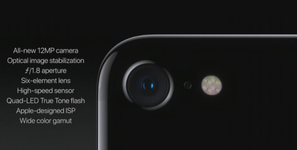 iPhone 7 ma słabszy aparat od konkurencji