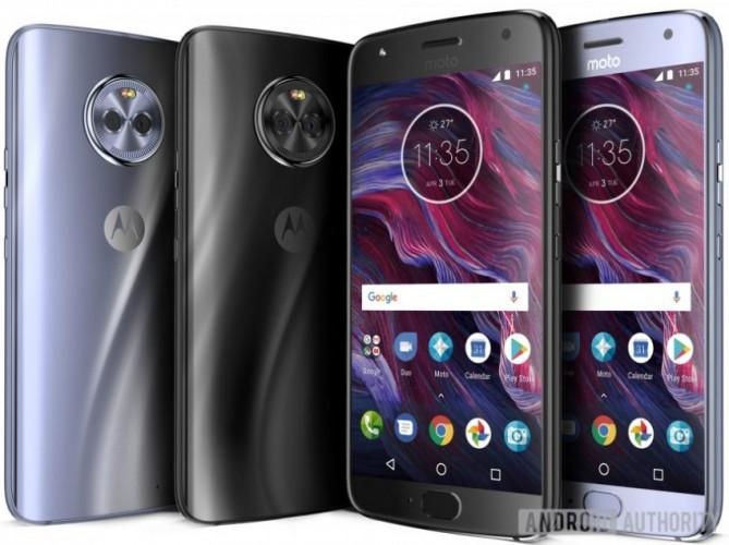 Motorola Moto X4 pozuje na zdjęciach