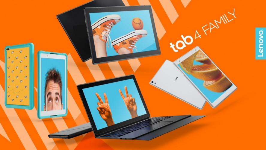 Nowe tablety Lenovo z serii Tab 4 trafiły już do Polski