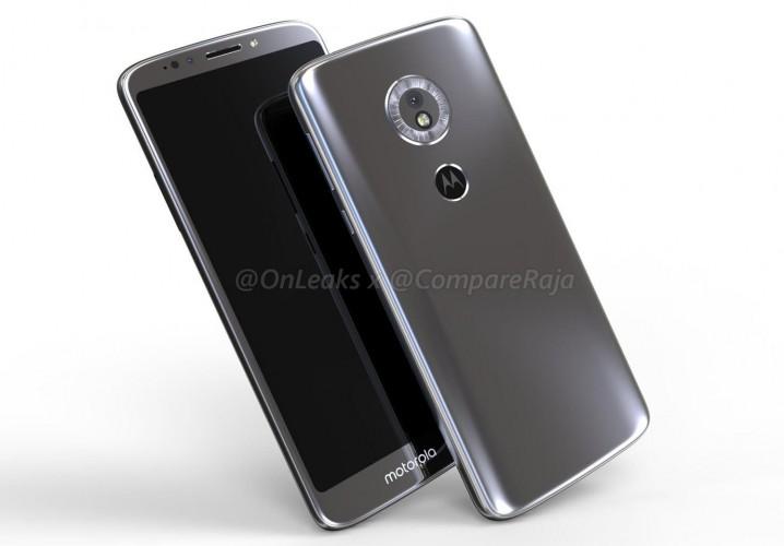 Nowa Motorola Moto G6 Play na renderach