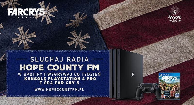 Far Cry 5: Radio Hope County FM rozpoczyna nadawanie na platformie Spotify