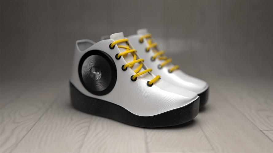 Jabra Speaker Sneaker, czyli trampki z głośnikami