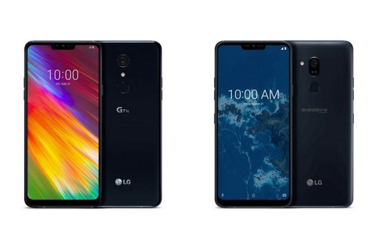 LG prezentuje nowe smartfony - LG G7 Fit i G7 One